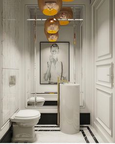 Banheiro Deuso inspiração via @ashleytstark        Majestic bathroom inspiration by @ashleytstark  DECOREDECOR | WORLD | CLASSIC