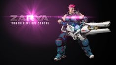 "Overwatch ZARYA: ""Together we are strong"""