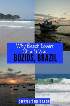 When you think of Brazilian beaches, Rio de Janeiro immediately comes to mind. However, for many Brazilians and Argentinians, the little area in Brazil called Búzios is their top choice for a beach vacation. With seventeen beaches, ranging from half-moon bays to long stretches of sand, there is a beach for every type of traveler.