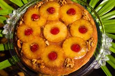 Awakenings: Upside Down & Lovin' It! The term 'upside down' is not always positively speaking. However, on this day, it is definitely a day to be upside down and lovin' it! When it comes to baking, this delight was originally made in a skillet, thus, called 'skillet cake'. Fruit was placed in the skillet with batter poured on top, then, baked, inverted and voila! the bottom becomes a beautifully decorated top.