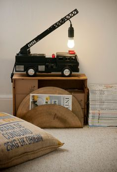 Great light for a boys room...Eclectic  by Jasmine Orchard Styling