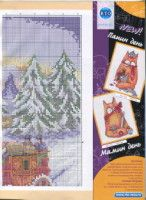 Gallery.ru / Фото #8 - ФР_01(46)_2013 г. - f-morgan Christmas Cross, Cross Stitch Charts, Creations, Cover, Books, Crossstitch, Patterns, Bricolage, Cross Stitch