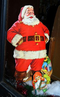 The real McCoy Santa ...... He's one jolly holly red suited dude. I love this presentation.