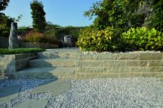 Sidewalk, Stone Walls, Outdoor Decor, Home Decor, Concrete Wall, Paredes De Piedra, Interior Design, Home Interior Design, Pavement