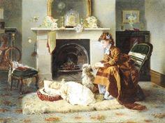 Alexander Mark Rossi (1840-1916) Англия