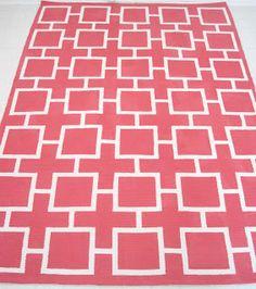 adventures of an almost 40 year old intern...: d.i.why not? fab pink geometric painted rug!