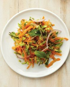 Asparagus and Carrot Slaw Recipe