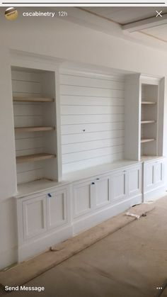 Built in tv wall unit, built ins with tv, wall units for tv, built in shelv Living Room Built Ins, Living Room Tv, Home And Living, Living Room Without Fireplace, Modern Living, Wall Cabinets Living Room, Daybed In Living Room, Living Room Furniture Sale, Barn Living