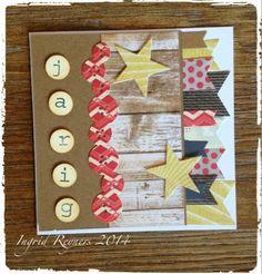 Ingrid's scrapfrutsels: Verjaardag- serie 3