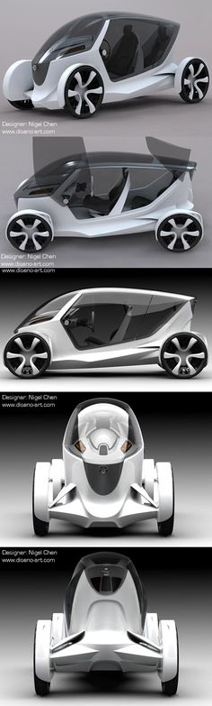 ♂ The Nissan Weave concept is a creation of Singapore based designer Nigel Chen…