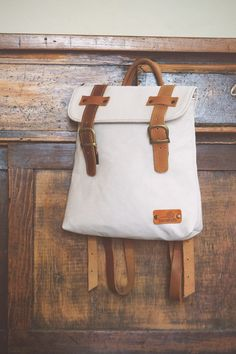 BONENDIS - DIONE CREAM BACKPACK #cute #white #vintage #backpack
