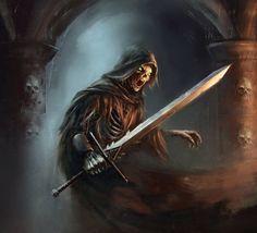 LOTR Wraith of Rhudaur by Anthony Devine