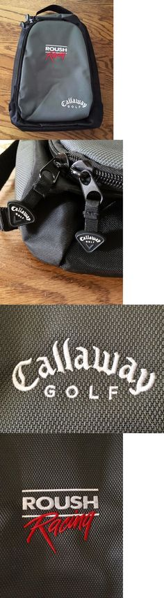Other Golf Equipment 181155: New Roush Racing Official Callaway Golf Deluxe Shoe Carrier Bag Vented -> BUY IT NOW ONLY: $40 on eBay!