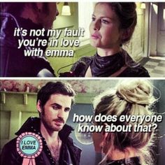 I just pinned this with a comment. I didnt see his i love emma badge. lol