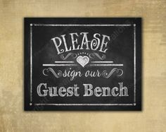 Printable Please Leaf Your Signature Guest Book Tree Sign