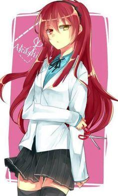 Akashi Seijuro Girl Version. Kawaii ~ >///<