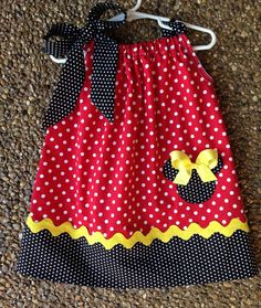 Minnie Mouse Pillowcase Dress by kgables2 on Etsy, $25.00