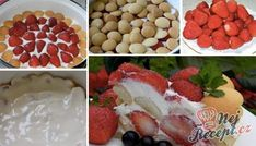 Recept Jahodová bomba s piškoty a zakysanou smetanou Raspberry, Strawberry, Thing 1, Cereal, Food And Drink, Gluten Free, Fruit, Keto, Breakfast