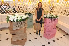 FEED for Links of London Press Launch at Harrods hosted by Lauren Bush, Co-Founder and CEO of FEED.