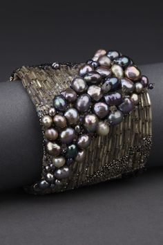 Midnight Couture Cuff