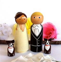 cake toppers @ Jenny Harrow...saw this and thought you might like ;)