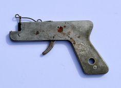 Remanco Pistol Gas Lighter Vintage Cigarette by BiminiCricket