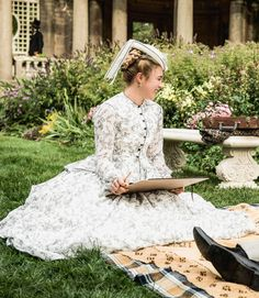 Historical Prettiness — Little Women dir. Greta Gerwig Source by juliacalina clothes aesthetic Greta Gerwig, Collateral Beauty, Florence Pugh, Princess Aesthetic, Portrait, Costume Design, The Dress, Flower Girl Dresses, Girls Dresses