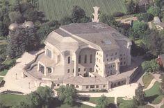 Rudolf Steiner/Goetheanum II/world center for the anthroposophical movement/Dornach/Switzerland/1925-1928