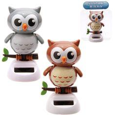 Cute Big Eyed Owl Solar Pal - Homecorner Store