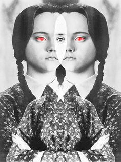 the addams family, wednesday addams, film, christina ricci Wednesday Addams, Happy Wednesday, Christina Ricci, Favim, Maroon 5, Minions, Macabre, Trippy, Dark Art