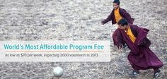 World's best affordable volunteering program. Volunteer Programs, Volunteer Abroad, Programming, World, Travel, Viajes, Trips, Computer Programming, The World