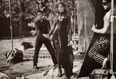 GIANNI VERSACE Fall Winter 1993/94 featuring STEPHANIE SEYMOUR photographed by BRUCE WEBER