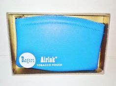 NIB Rogers Airlok Tobacco Pouch Vintage by NaturesUniqueBotique
