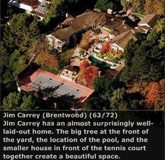 Jim Carrey Home.