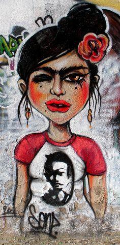 Street art | Mural by Chola