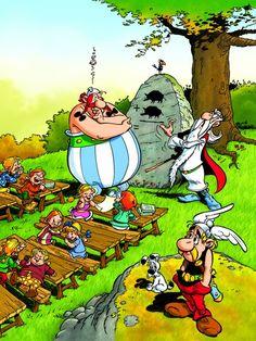 Asterix and Obelix puzzle