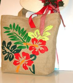 TROPICAL SUMMER VACATIONS - HAITI A stylish tote bag is what you need to complete your summer look. Choose a vibrant or earthy colors and try a canvas bag or an absolutely fashionable jute /burlap tote bag to enter in style in summer climate. You can choose a colored bag to accompany your