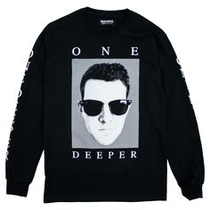 One Deeper Longsleeve | Dillon Francis Apparel | Online Store, Apparel, Merchandise & More