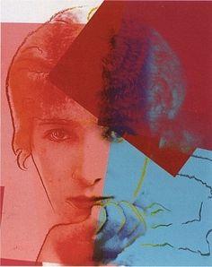 Andy Warhol: Ten Portraits of Jews of the Twentieth Century: Sarah Bernhardt
