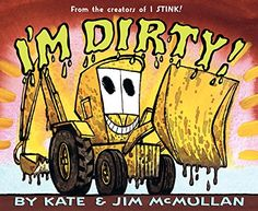 I'm Dirty! by Kate McMullan https://www.amazon.com/dp/0060092955/ref=cm_sw_r_pi_dp_x_9.ofybNG0E1W8