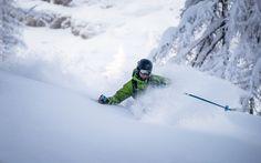 Deep Powder Skiing by Christoph Oberschneider on 500px