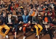 Now in its seventh season, The Hilfigers campaign remains the ultimate personification of the preppy heritage and irreverent spirit of the Tommy Hilfiger brand. The campaign is photographed by Craig McDean, styled by Karl Templer and. Craig Mcdean, Style Blog, Style Diary, Men's Style, Vanity Fair, Mode Tommy Hilfiger, Rj King, Fashion Magazin, Marlon Teixeira
