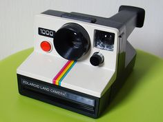 My parents used to have one when I was a kid.  Our photos that were taking with our poleroid are beginning to crack.