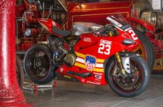 "Ducati Panigale R ""Engine No. 23"" Special Edition FDNY Livery - #RideHVMC Freeman Racing Ducati"