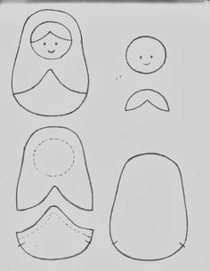 Patch Quilt, Applique Quilts, Sewing Projects For Kids, Sewing Crafts, Felt Bookmark, Matryoshka Doll, Doll Quilt, Small Quilts, Felt Dolls
