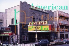 """Cosmo Theater in East Harlem: I saw """"Jaws"""" here as a kid; no longer in existence"""
