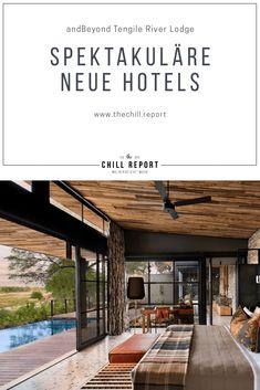 5 Spektakuläre Hoteleröffnungen 2019 - The Chill Report Outdoor Lounge, Outdoor Decor, Beautiful Hotels, Most Beautiful, Spa Hotel, River Lodge, Hotel Reviews, Pergola, La Gomera