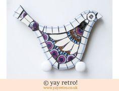 140: Meakin Rondo Mosaic Bird (£26.00)