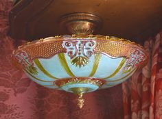 Gypsy Lighting Large Semi Flush Mount Ornate Hand by queendecor