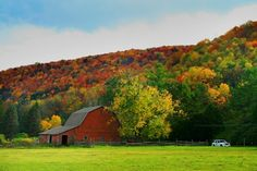 The beautiful Pennsylvania countryside is a great place to visit!